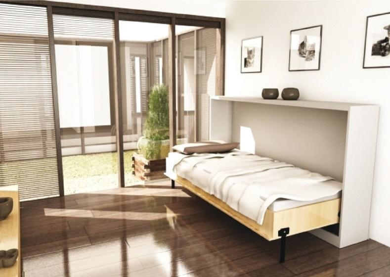 Foldaway bed fitting, Bettlift, for side mouting - in the Häfele Vietnam  Shop