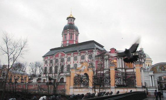 Благовещенская церковь Александро-Невской лавры