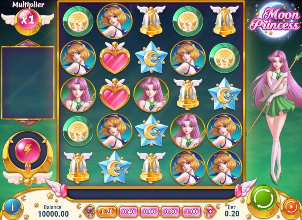 game Thủy thủ mặt trăng Moon Princess