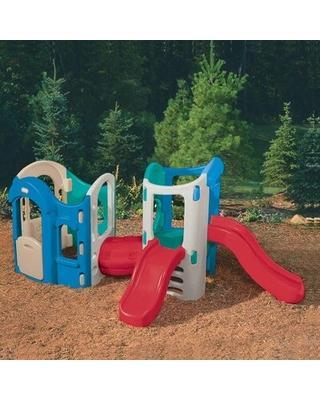 Remarkable Deals on Climbers and Slides 8-in-1 Adjustable Playground Little Tikes