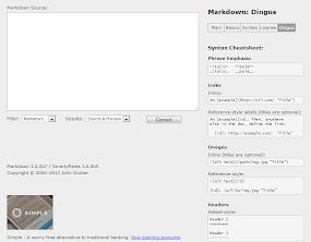 Markdown: Dingus
