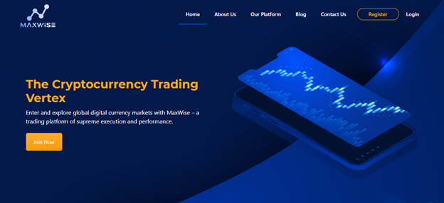 Cryptocurrency trading with MaxWise