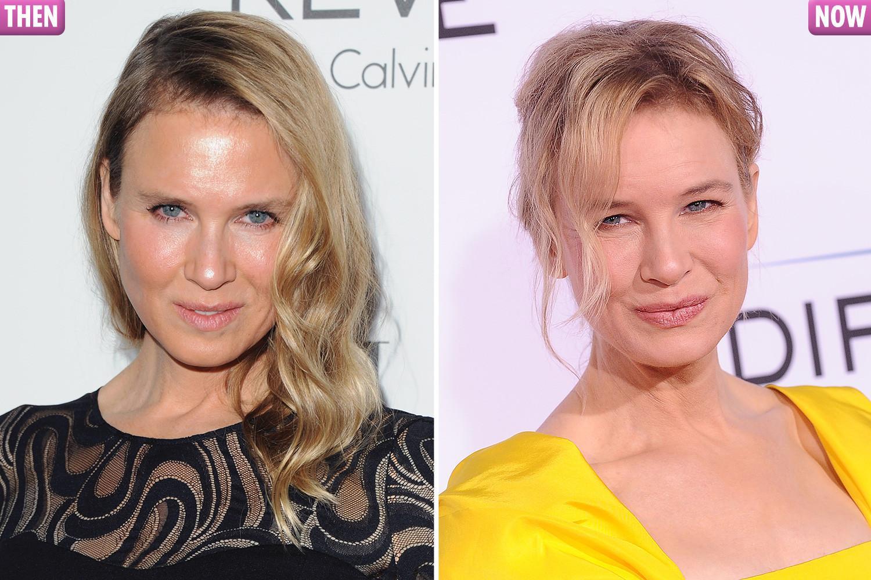 Renée's current look is much more like the Bridget Jones we'll always love