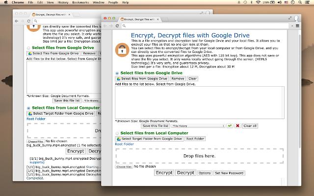 Encrypt, Decrypt files with Drive - G Suite Marketplace