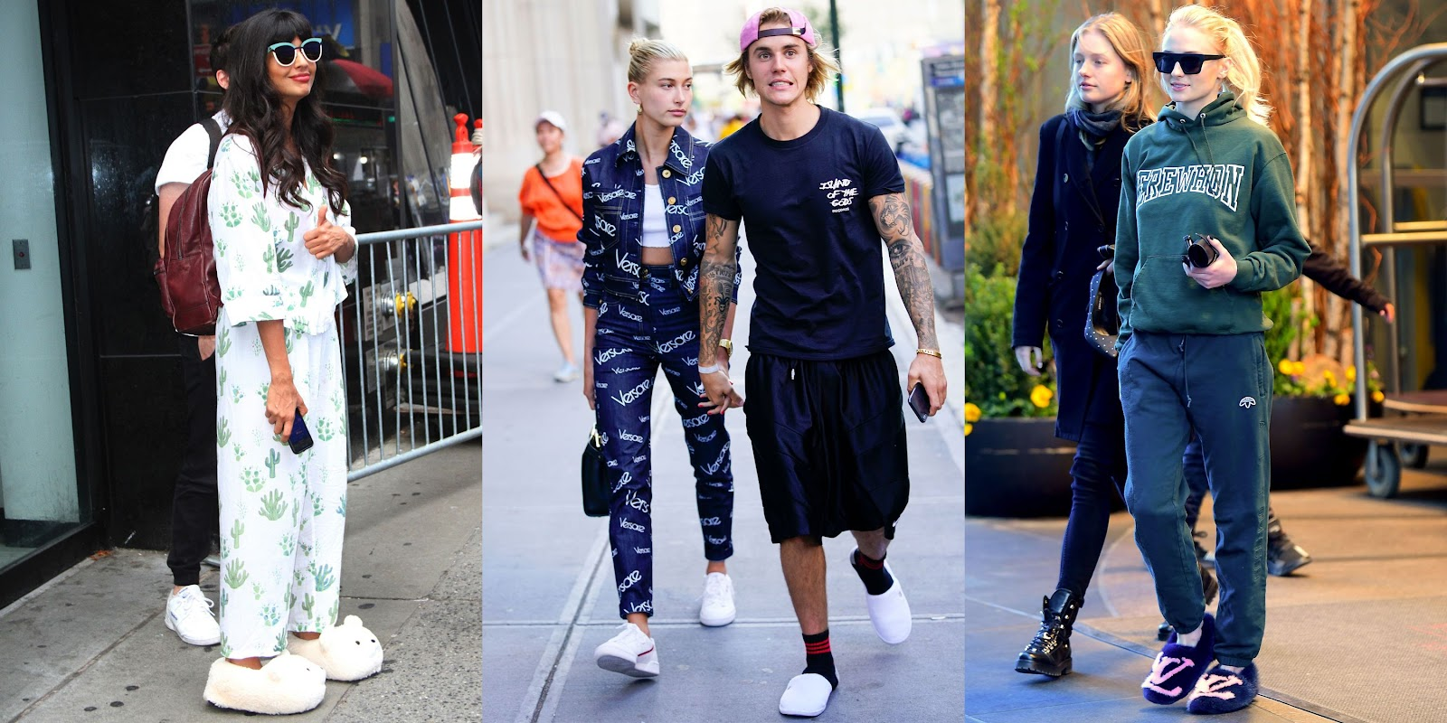 Celebrities Wearing House Slippers in Public - Comfy Celebrity Shoes