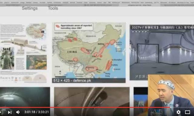 中国核戦争都市「地下万里の長城」