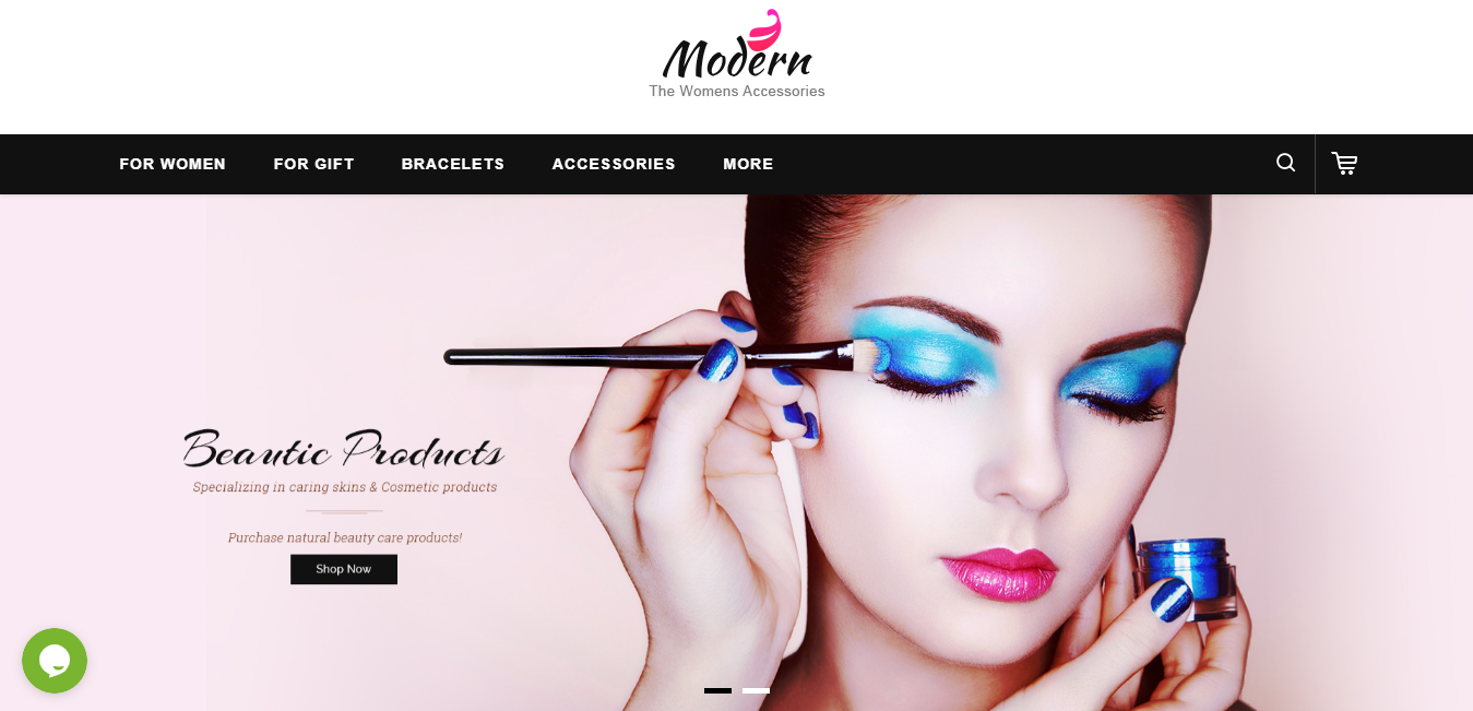 Modern - Cosmetic opencart theme: