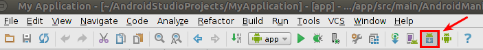 Android SDK manager in Android Studio