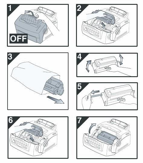 Cách lắp hộp mực máy in Canon2900 chính hãng