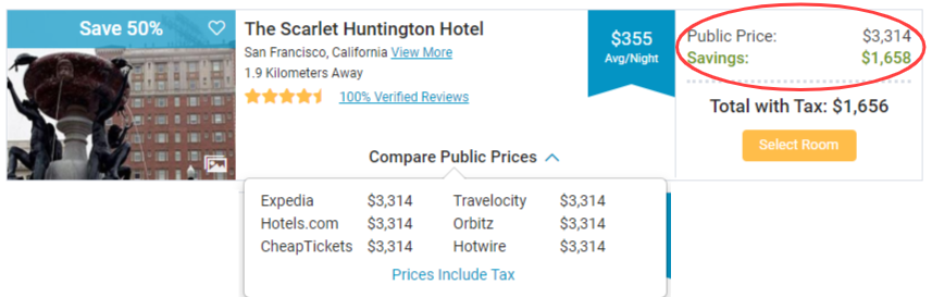 Discount Hotel Rooms in San Francisco