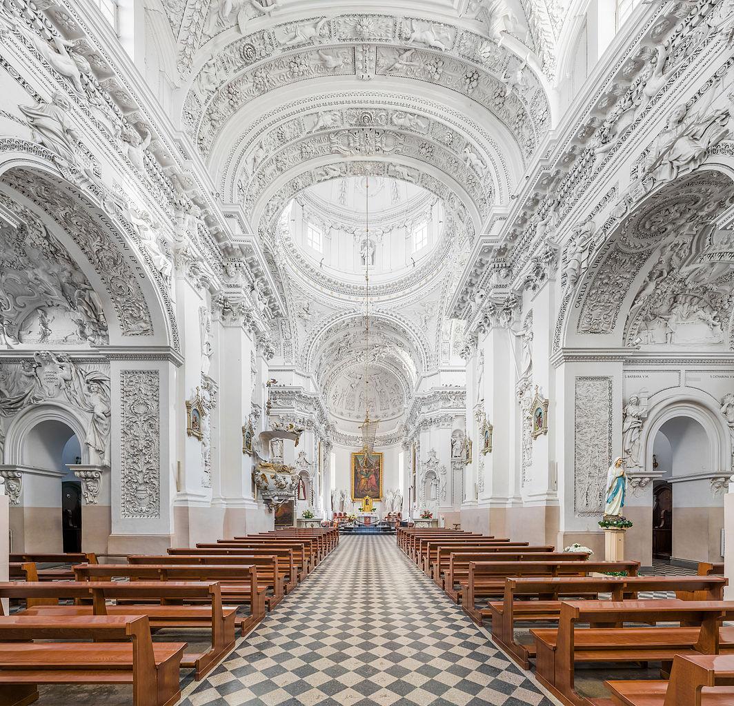 Nhà thờ Thánh Phê-rô và Phaolo – thành phố Vilnius, Lithuania