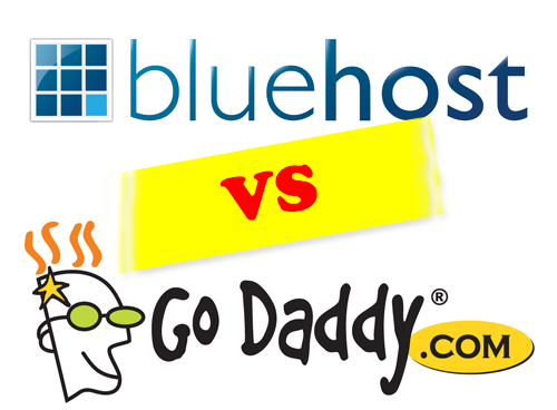 Bluehost Vs Godaddy hosting. 6 comparsion