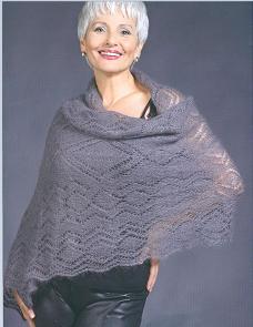 схемы для вязания шали и палантина подборка бесплатно