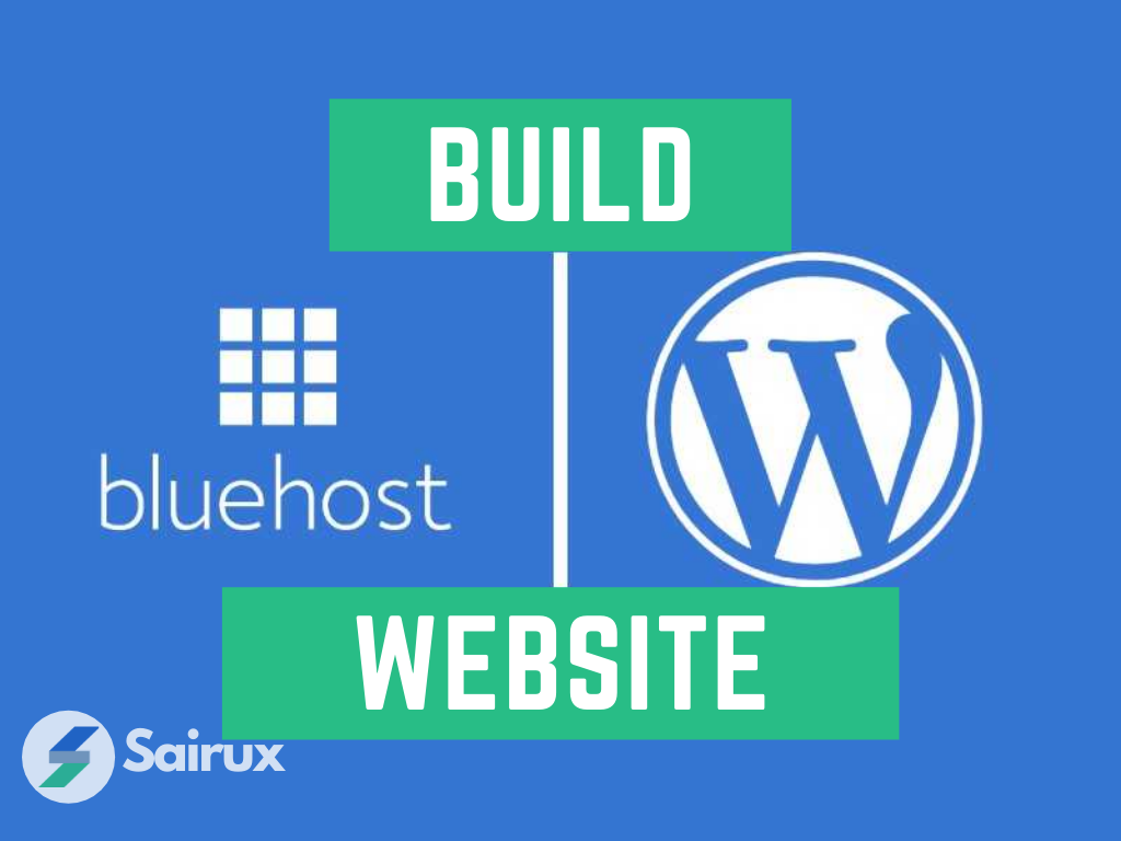5 Easy Steps to Learn How to build a website on bluehost  !
