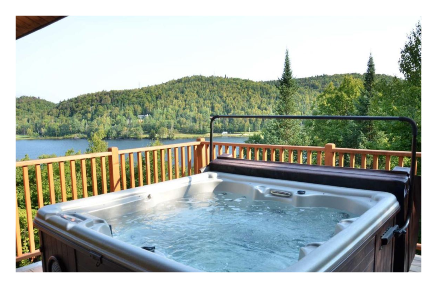 Cottages for Rent with Spa in Tremblant  #11