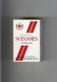 SCISSORS CIGARETTES