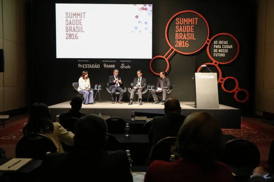 Os principais temas do setor são debatidos desde 2016 pelo Estadão Summit Saúde. (Fonte: Estadão Summit Saúde 2016/Reprodução)