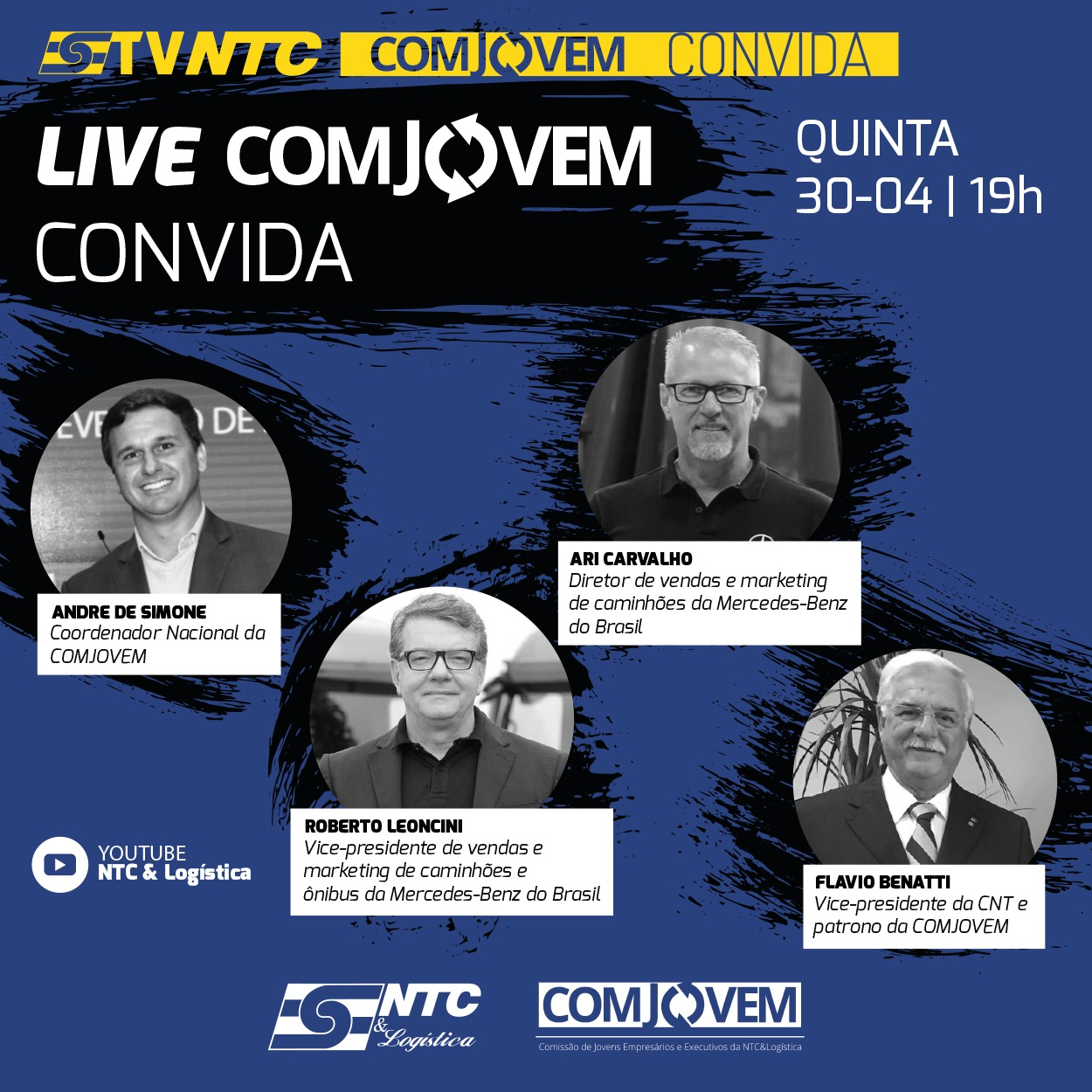 'COMJOVEM Convida' estreia hoje na TV NTC