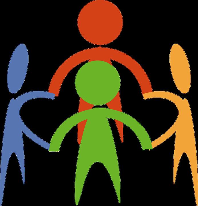 Community, Hands, Holding