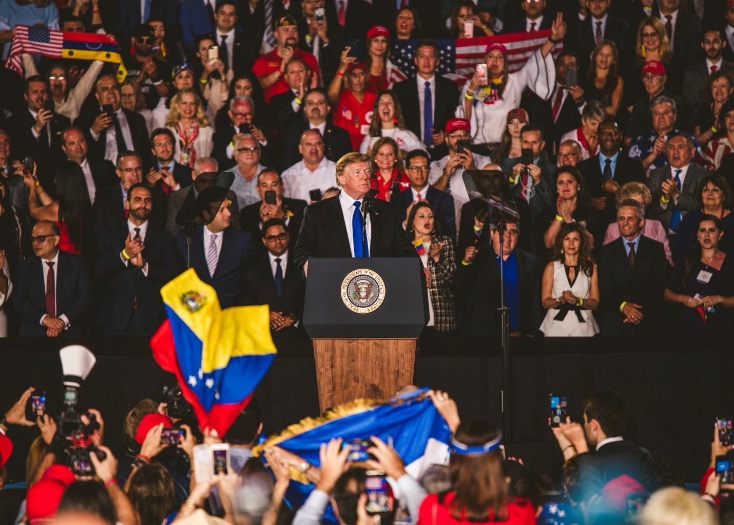 Image result for fiu trump miami venezuela