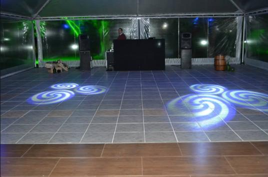 salão de festas - pista de dança Sítio da Figueira