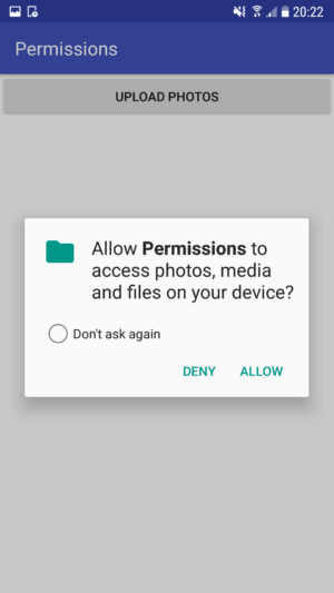 What are Android App permissions, and how do devs implement them?