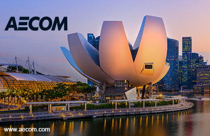 Aecom has contributed hugely to the Singapore landscape.