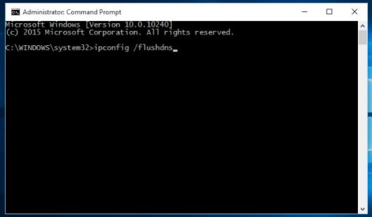 Flush The DNS And Renew IP Address