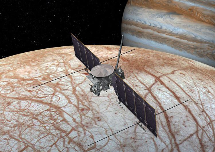 Tàu vũ trụ sẽ đổ bộ xuống mặt trăng Europa trong vòng 15 năm tới.