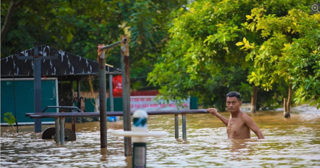 Nước ở đập Tam Hiệp vượt mức cảnh báo, hạ lưu sông Hồng tiếp tục lên cao - Ảnh 2