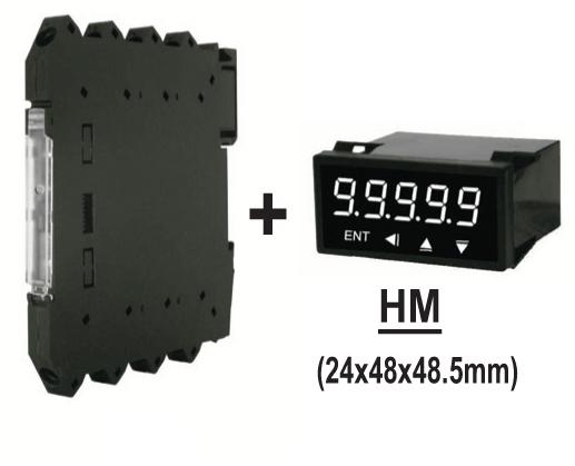 Bộ chuyển đổi tín hiệu PT100, K sang 4-20mA, 0-10VDC