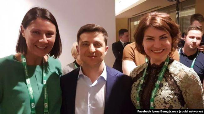 У велику політику Ірина Венедіктова прийшла разом із командою Володимира Зеленського