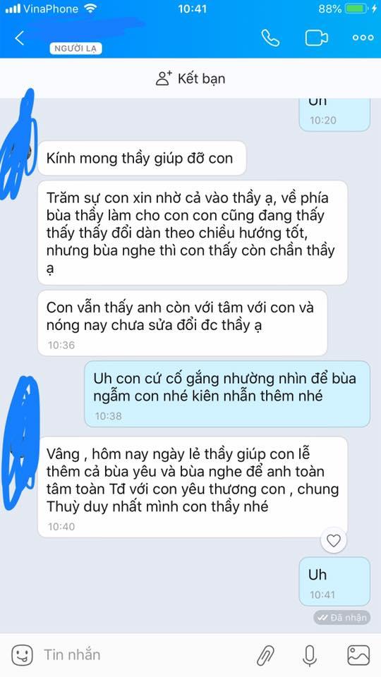 Cách làm bạn trai hết giận bằng tin nhắn