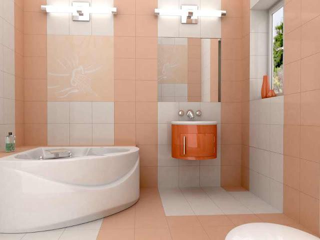 Lựa chọn những màu sắc yêu thích cho không gian phòng tắm