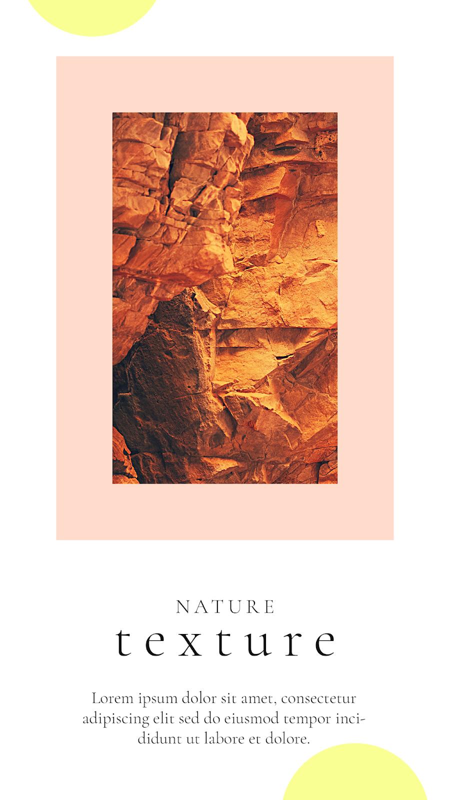 Graphics Eggs Nature Texture Instagram Stories Templates