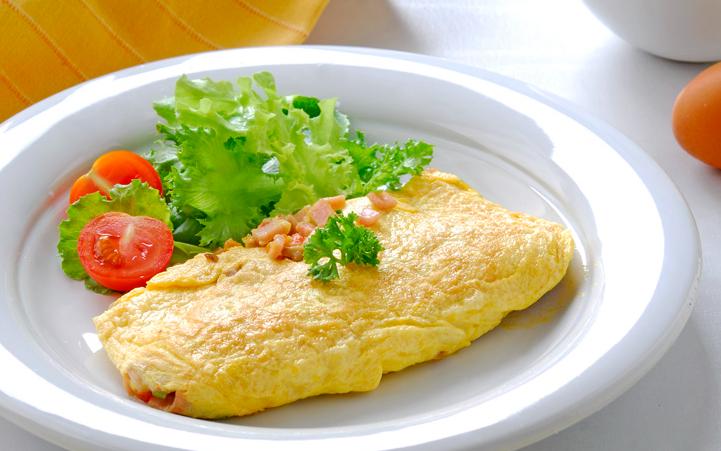 1. ออมเลตไข่ยัดไส้