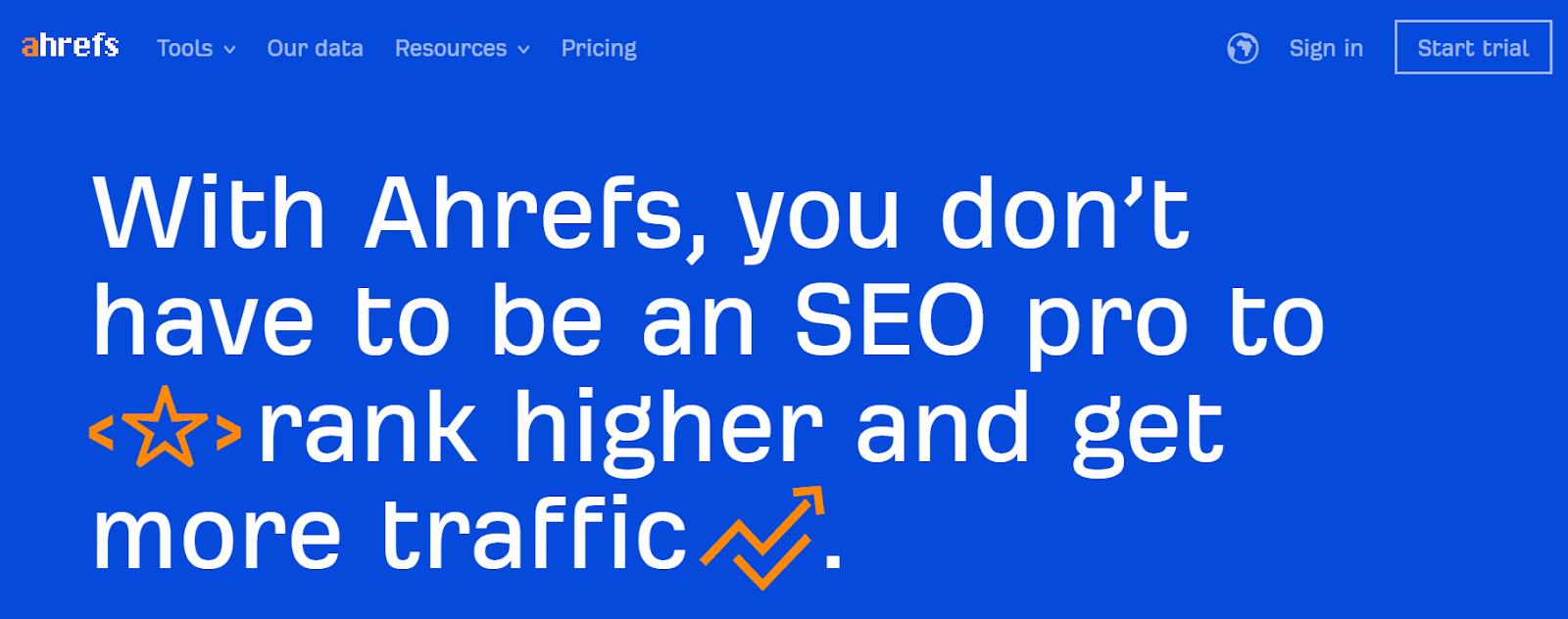 Content Writing Tool - Ahrefs