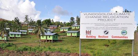 Village aux îles Fidji