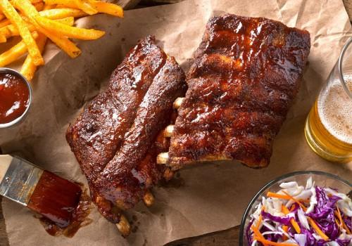 Sườn cánh buồm nướng BBQ chuẩn phong cách nhà hàng
