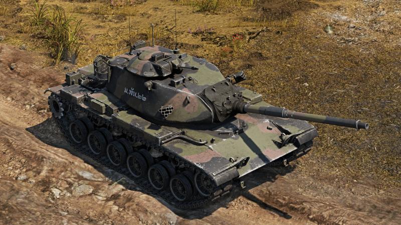 M60A3 TTS Camouflage skin War thunder