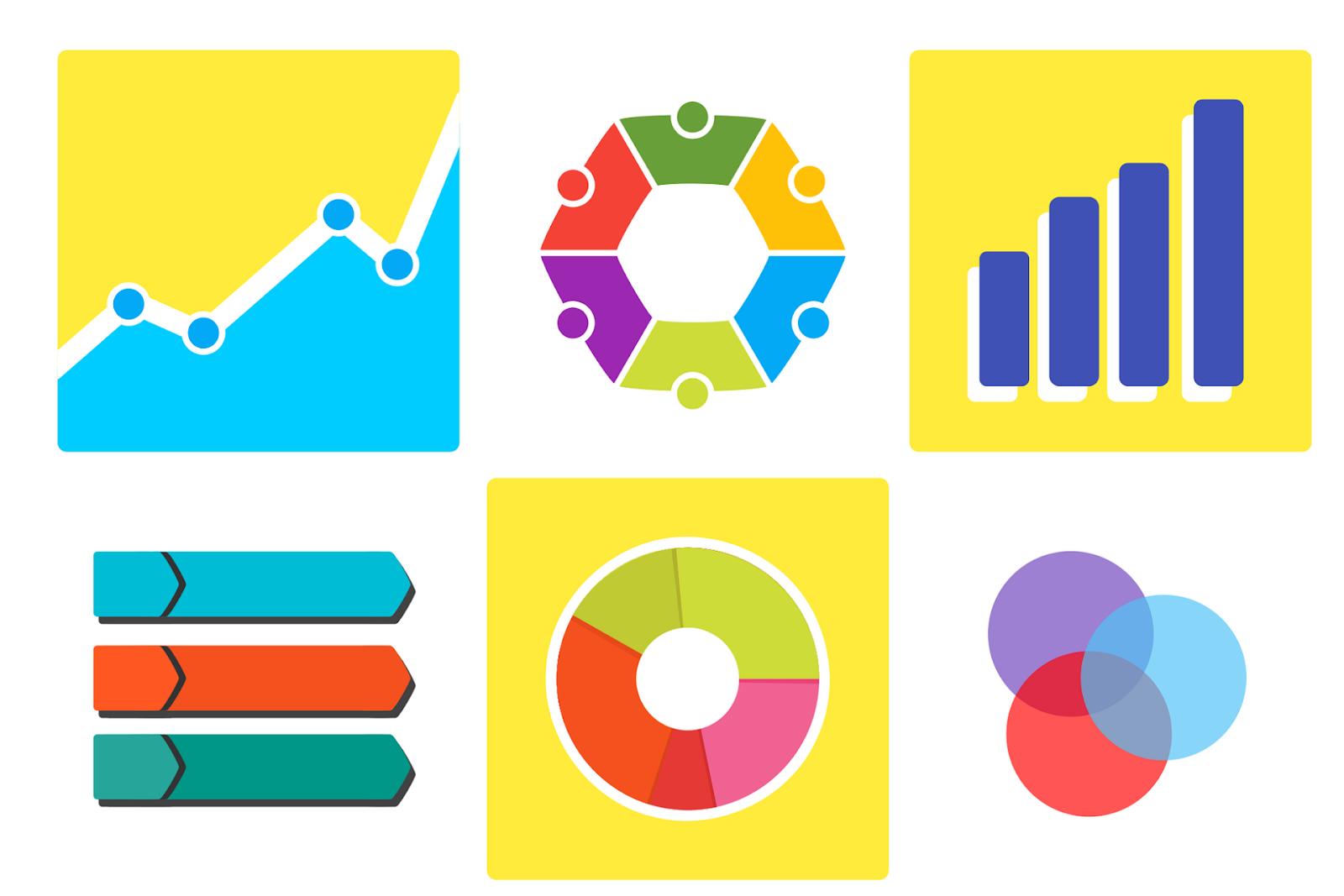 Graphs for reading data