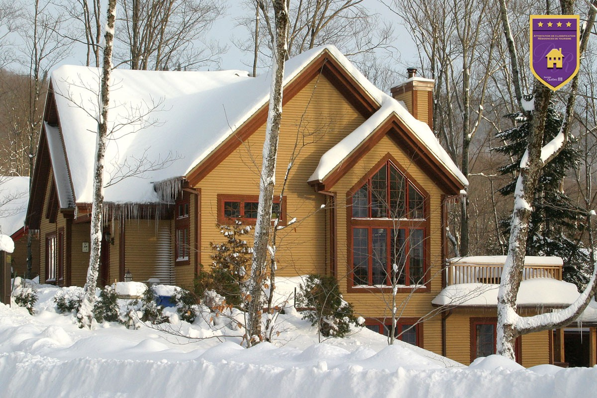 Cottages for rent near a ski mountain in Quebec City #19
