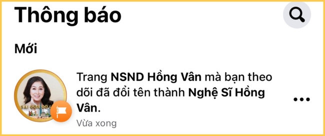 Bỏ danh hiệu NSND khỏi tên fanpage, Hồng Vân giải thích - 1