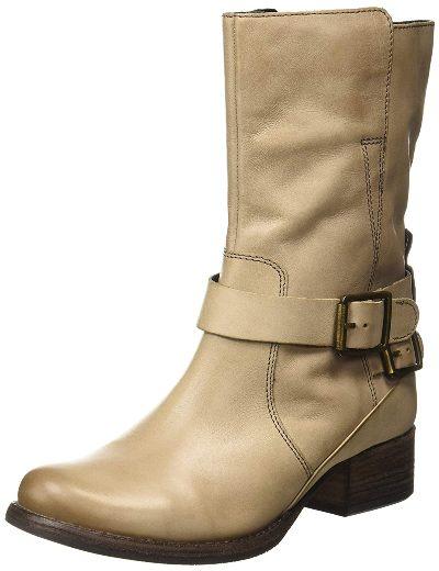 Clarks Women Monica Soul Leather Boots