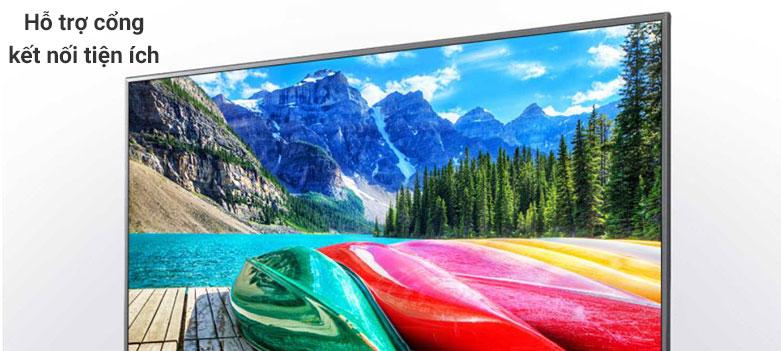 Smart Tivi LG 4K 43 inch 43UN7000PTA| Hỗ trợ cổng kết nối tiện ích