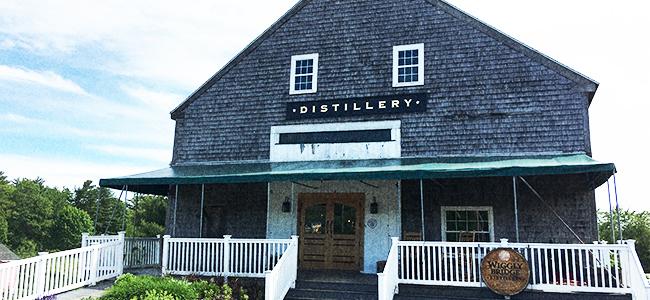 Wiggly Bridge Distillery in York, Maine