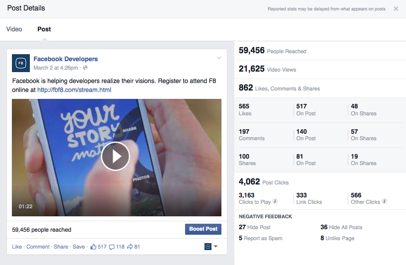 how to unlike a live video on facebook