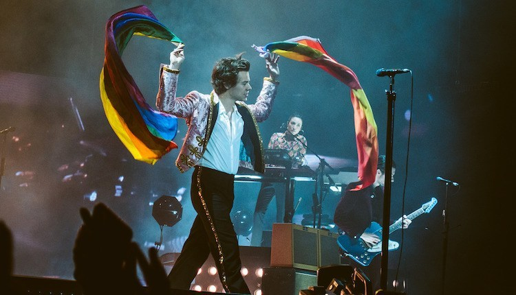 Image result for harry styles pride flag