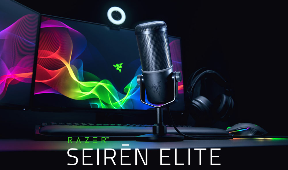 ไมค์ไดนามิกแห่งปี ที่ผลิตมาเพื่อสายสตรีมมิ่งโดยเฉพาะ Razer Seiren Elite 02