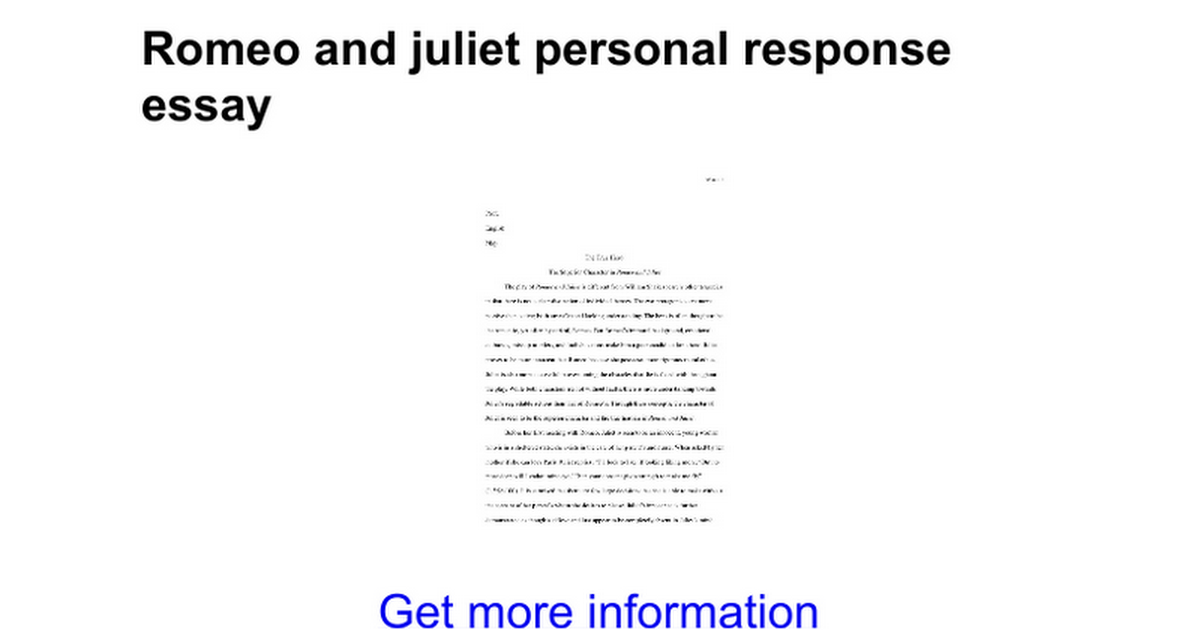 romeo and juliet conflict essay conclusion romeo and juliet character analysis
